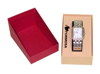 Small Single Slanted Watch Display Box